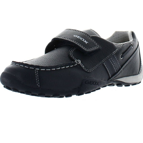 Geox Boys Jr Snake Moc Dress Casual Loafers Shoes