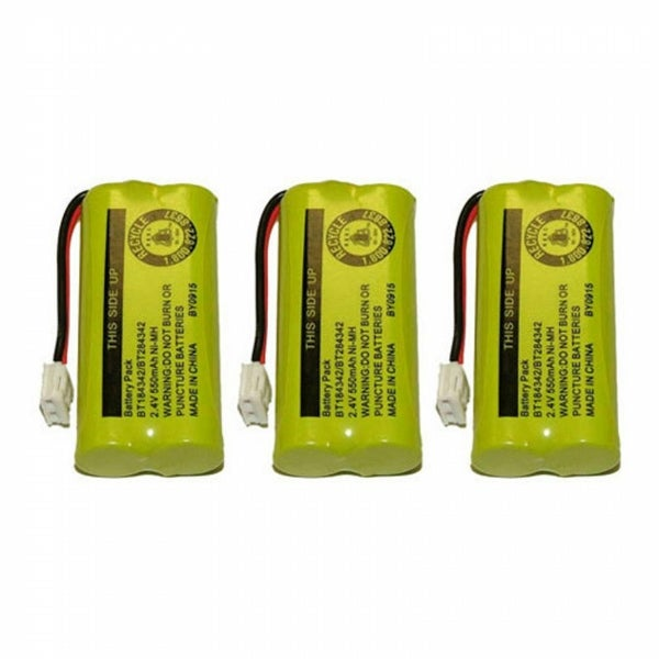 Replacement VTech 6010 Battery for 6322 / CS6219-4 Phone Models (3 Pack)