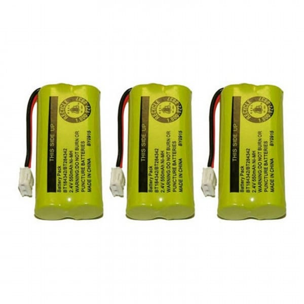 Replacement VTech 6010 Battery for CS6219-3 / DS6111 Phone Models (3 Pack)