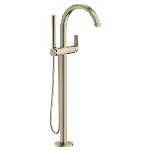 Grohe 29 302 Defined Free Standing Tub Filler with Built-In Diverter and Hand Shower