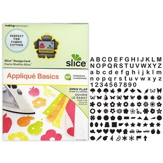 Applique Basics Slice Elite Design Card Making Memories