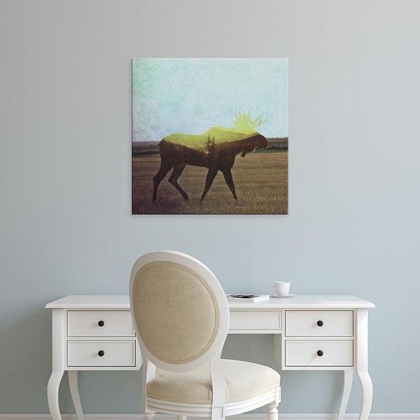 Easy Art Prints Andreas Lie's 'Moose' Premium Canvas Art
