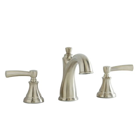 Giagni LL408 Mitchell Widespread Bathroom Faucet with Pop-Up Drain Assembly - Brushed Nickel