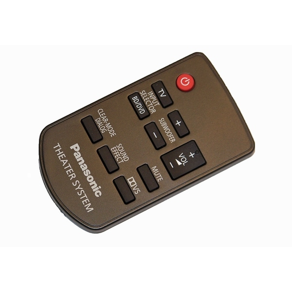 OEM Panasonic Remote Control Originally Supplied with SCHTB10, SCHTB500, SC-HTB10, SC-HTB500