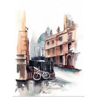 Sophia Rodionov Poster Print entitled European Vacation V - multi-color