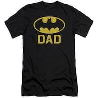 Batman Bat Dad Mens Slim Fit Shirt