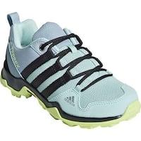 adidas Children's Terrex AX 2.0 R Hiking Shoe Clear Mint/Carbon/Hi-Res Yellow