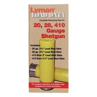 Lyman 9780002 lyman 9780002 load data book 16, 20 & 28 gauge