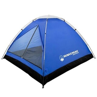 2-Person Tent, Water Resistant Dome Tent for Camping With