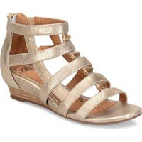 Sofft Womens Rio Leather Open Toe Casual Strappy Sandals