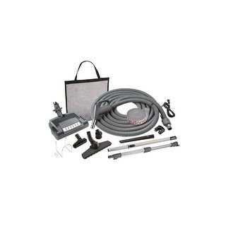 Nutone CS500 Central Vacuum Electronic Carpet and Bare Floor Combination Attachment Set with Pigtail 120V Cord - n/a