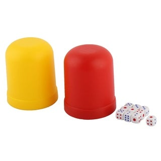 Club KTV Casino Guessing Gaming Gambling Shaker Case Bet Stake Dice Cup 2 Sets