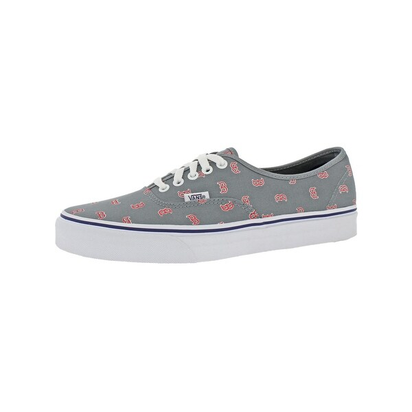 5863386f686c Shop Vans Mens Authentic Skate Shoes Boston Red Sox - Free Shipping ...