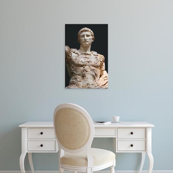 Easy Art Prints Prisma Archivo's 'Marble Statue Of Augustus Of Prima Porta' Premium Canvas Art