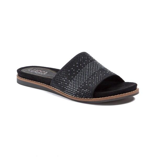 Lucca Lane Bailey Women's Sandals & Flip Flops Black