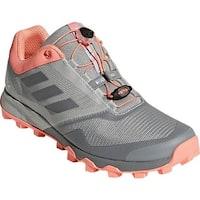 adidas Women's Terrex Trailmaker GORE-TEX Running Shoe Grey Three/Grey Three/Chalk Coral