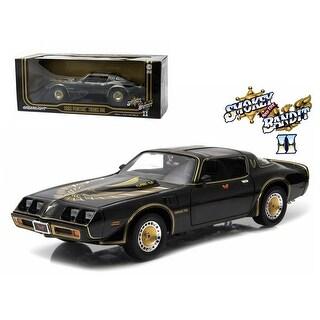 1980 Pontiac Trans Am Turbo 4.9L Smokey And The Bandit 2 Movie Car 1/18 Diecast Model by Greenlight