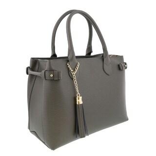 HS Collection HS8435 GG LIZA Grey Satchel/Shoulder Bag