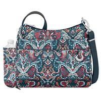 Travelon Women's Anti-Theft Boho Square Crossbody Bag - One size