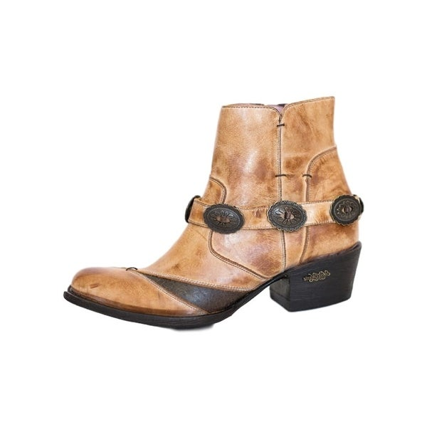 Miss Macie Fashion Boots Womens Sunset Dancer Ankle Caramel