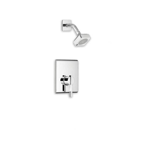 American Standard T184.507 Times Square Shower Trim Package with Multi-Function Shower Head - Less Valve
