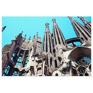 """Sagrada Familia Cathedral, Barcelona"" Poster Print"