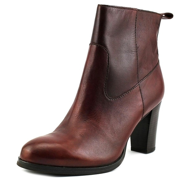 Cole Haan Livingston Bootie Women Round Toe Leather Ankle Boot
