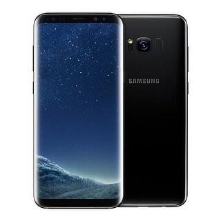 Samsung Galaxy S8 64GB Unlocked Smartphone (Midnight Black) - Black