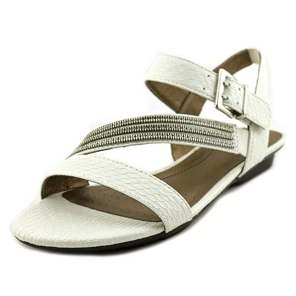 Life Stride Enchant Women White cano Sandals