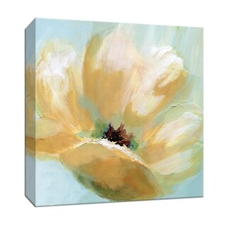 """PTM Images 9-147879  PTM Canvas Collection 12"""" x 12"""" - """"Soft Sunday I"""" Giclee Flowers Art Print on Canvas"""