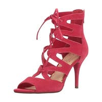 Jessica Simpson Womens Mitta Gladiator Sandals Suede Lace Up