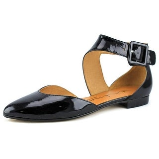 Nina Queenie Women Pointed Toe Synthetic Black Flats