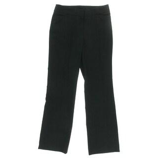 Anne Klein Womens Boot Leg Curvy Fit Dress Pants - 6