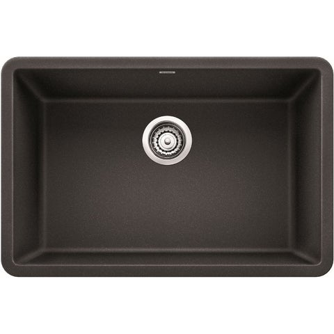 Blanco 522259 Precis 27in Silgranit Granite Composite Undermount Single Bowl Kitchen Sink