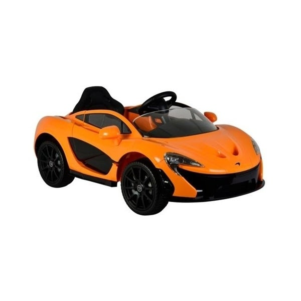 Best Ride On Cars McLaren P1 12V - Orange 12V Electric Power Wheels Remote  Control - Orange