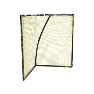 Park and Sun 6 x 6 x 4 ft PVC Lacrosse Goal, Black Frame