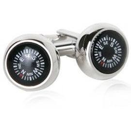 Compass Direction Navigator Explorer Cufflinks