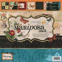 "Mariposa; 24 Designs/2 Each - Dcwv Paper Stack 12""X12"" 48/Pkg"