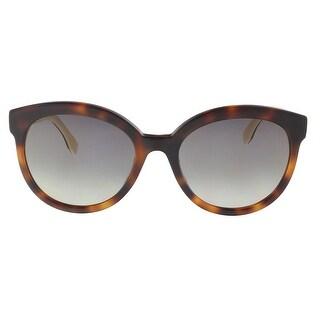 Fendi FF0268S 0086 Dark Havana Cat Eye Sunglasses - 56-20-145