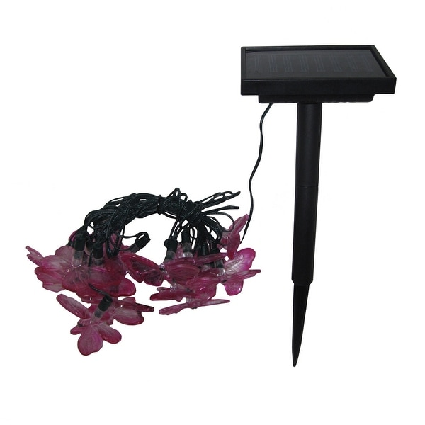 Smart Solar 3705MR20 Solar Light String with Butterfly Covers