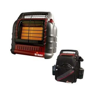 Mr. Heater MH18B Big Buddy Portable Propane Heater with Big Buddy Carry Case