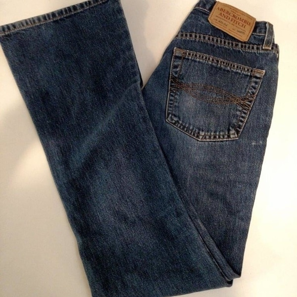 a3cd319bad2e3 Shop Abercrombie and Fitch 432-5J Jeans 1892 ~ Button Fly ~ Boot Leg ...