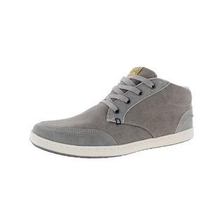 Steve Madden Mens Tayler Casual Sneakers Suede Trim Casual - 10 medium (d)
