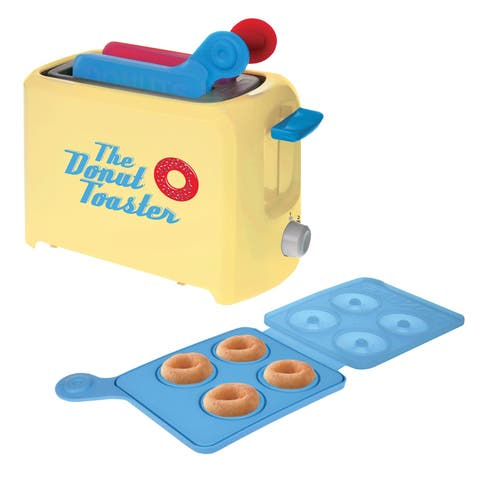 Donut Toaster - Make Up to 8 Fresh Homemade Donuts - 5 in. x 9.5 in. x 5 in.