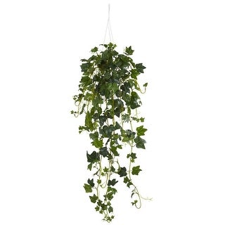 Nearly Natural English Ivy Hanging Basket Artificial Plant