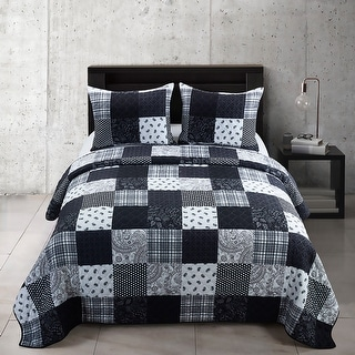 Link to Your Lifestyle by Donna Sharp London Quilt Set Similar Items in Quilts & Coverlets