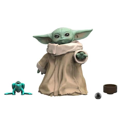 Star Wars The Black Series The Child Toy 1.1-Inch The Mandalorian Collectible Action Figure Toys For Kids Ages 4 And Up