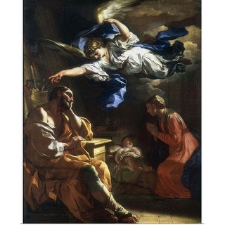 """St Joseph's Dream"" Poster Print"