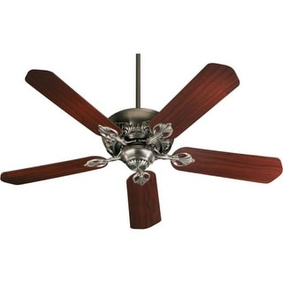 Quorum International Q78525 Energy Star Rated Renaissance Indoor Ceiling Fan from the Chateaux Collection