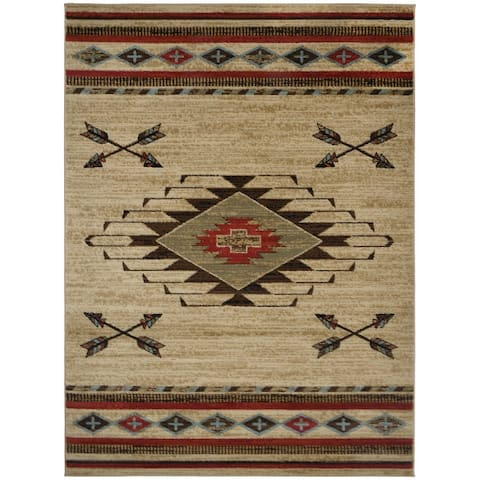 American Destination Arrowhead Southwest Area Rug